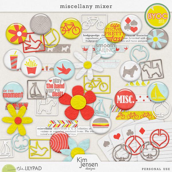 Miscellany Mixer