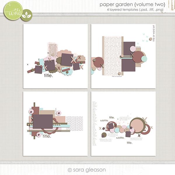 Paper Garden {volume two}