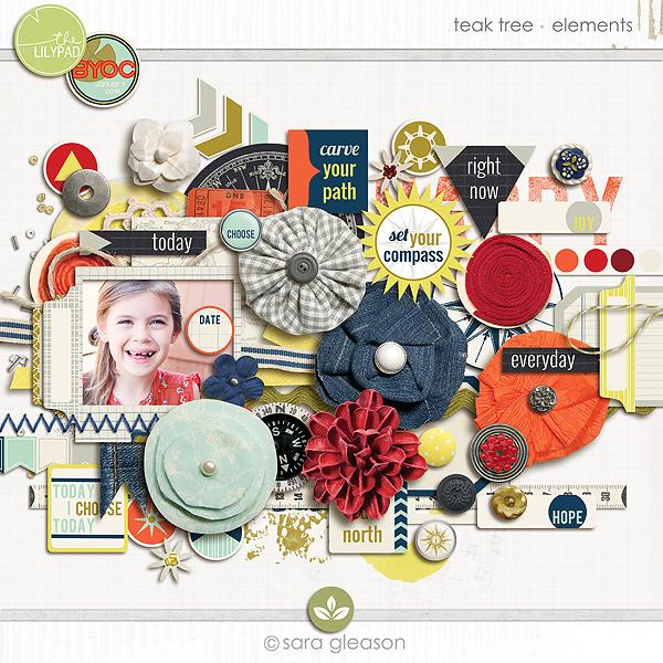 Teak Tree {elements}