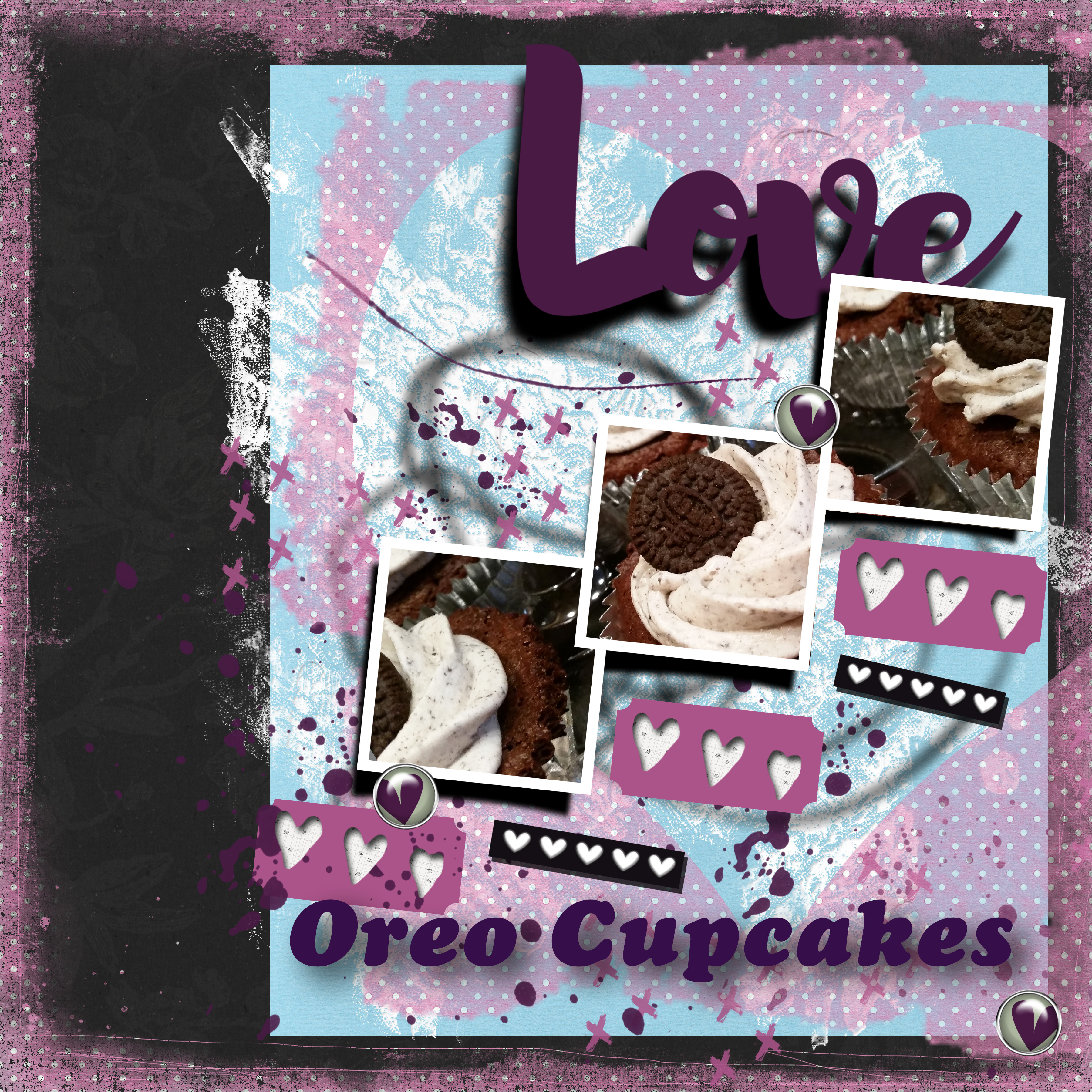Pink Reptile Designs February Template Challenge love Oreo Cupcakes.jpg