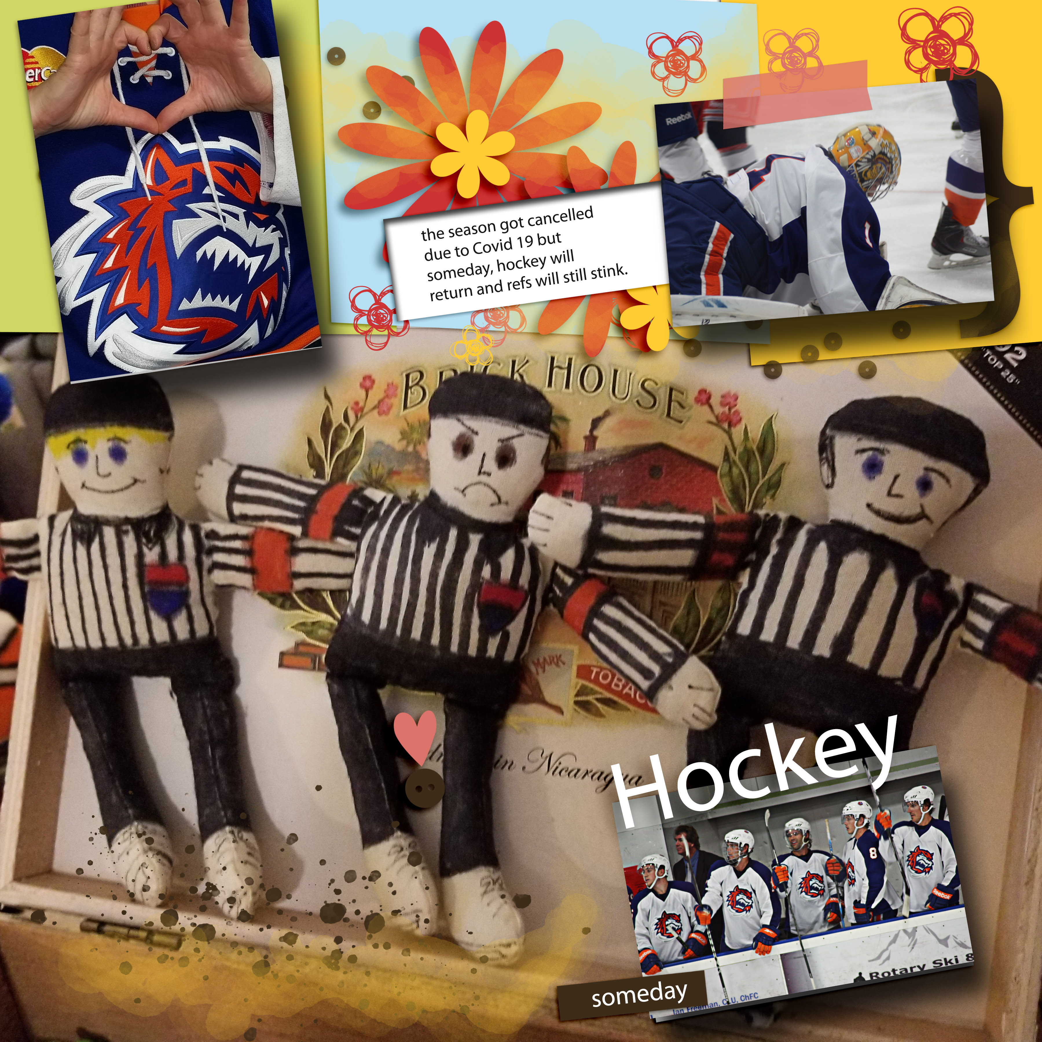 Scrapping with Liz January Template Challenge hockey.jpg