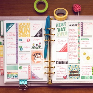 planner page march - video