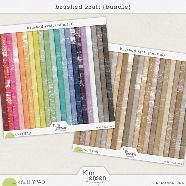 Brushed Kraft {Bundle}