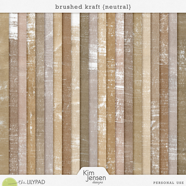 Brushed Kraft {Neutral}