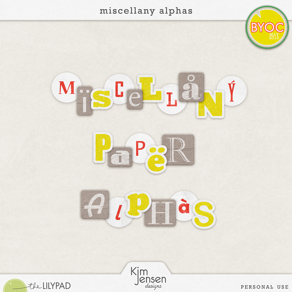 Miscellany Alphas