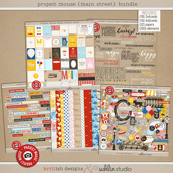 Project Mouse (Main Street): BUNDLE
