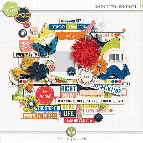 Beech Tree {elements}