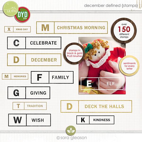 December Defined {stamps}
