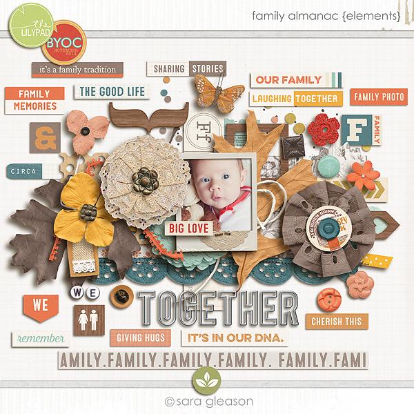 Family Almanac {elements}