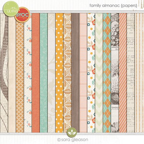 Family Almanac {Papers}