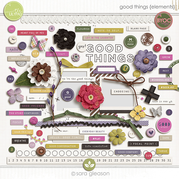 Good Things {elements}