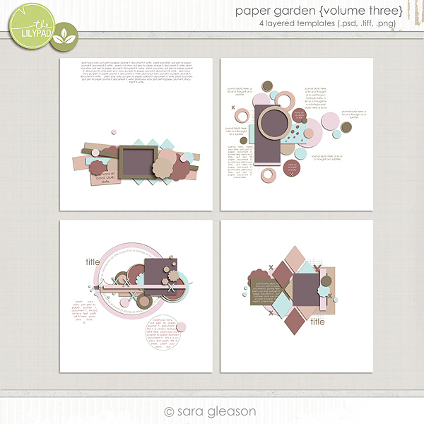 Paper Garden {volume three}