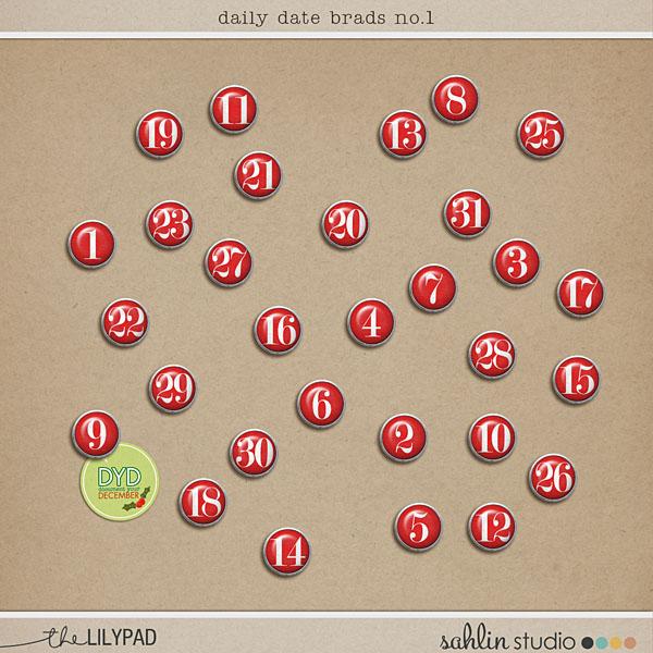 Daily Date Brads No. 1