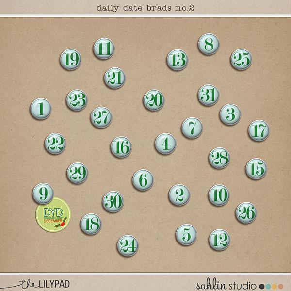 Daily Date Brads No. 2