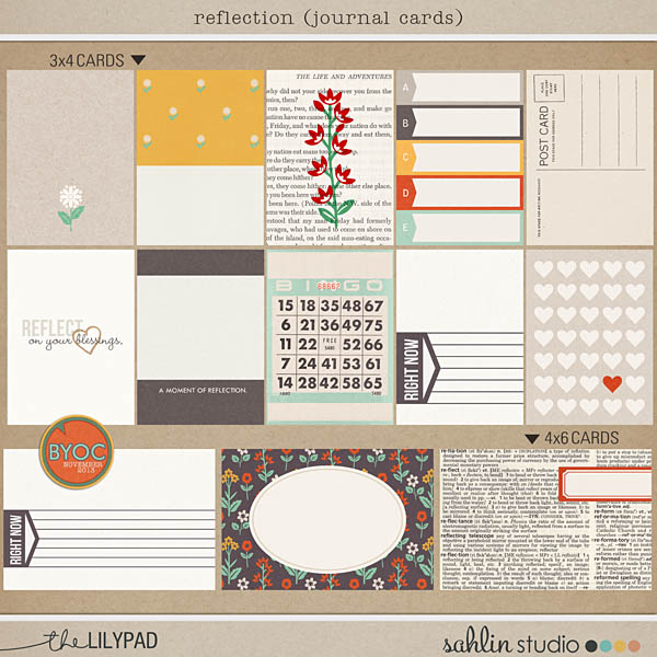 Reflection: Journal Cards
