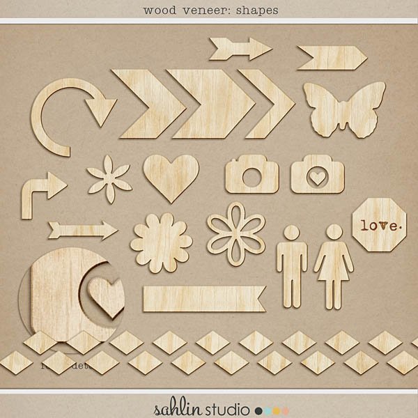 Wood Veneer: Shapes