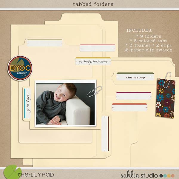 Tabbed Folders