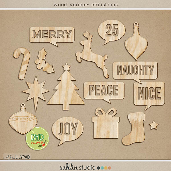 Wood Veneer (Christmas)