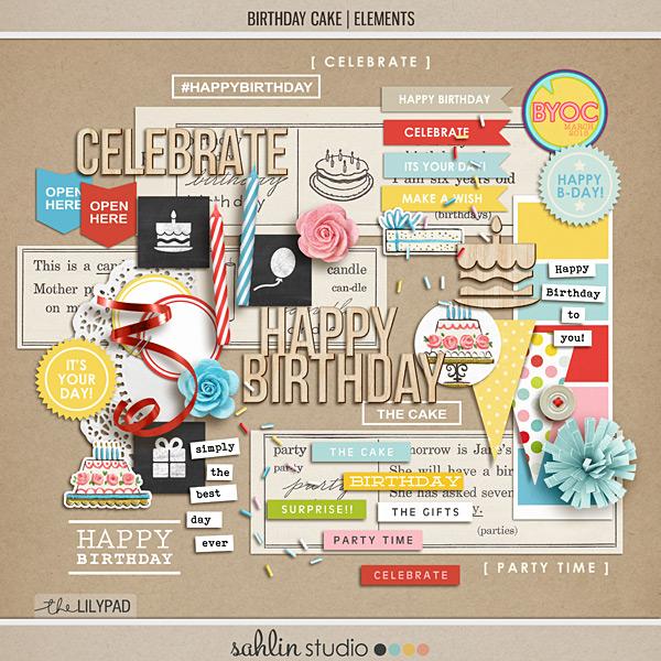 Birthday Cake: Elements