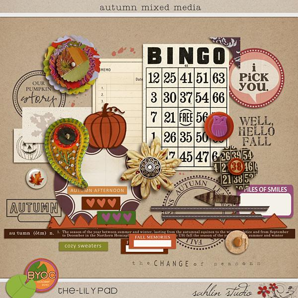 Autumn Mixed Media