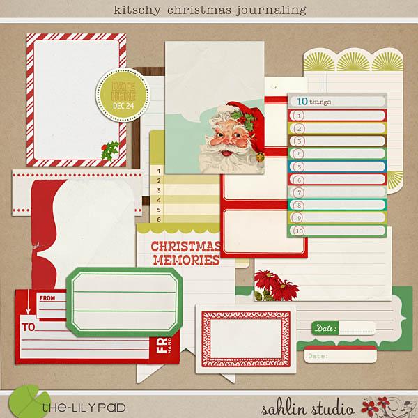 Kitschy Christmas: Journaling