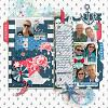 Digital Scrapbook Page by Carol
