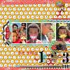 Digital Scrapbook Page by Anne