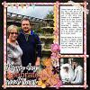 Digital Scrapbook Page by Donna