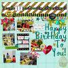 Digital Scrapbook Page by Courtney