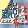 Digital Scrapbook Page by Dagi