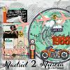 Digital Scrapbook Page by Cynthia