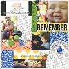 Digital Scrapbook Page by Marnel