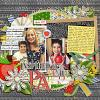 Digital Scrapbook Page by Dalis