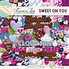 DIGITAL SCRAPBOOKING | FOREVERJOY DESIGNS | SWEET ON YOU