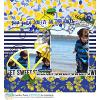 DIGITAL SCRAPBOOKING | FOREVERJOY DESIGNS | LEMON SQUEEZY