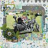 Digital Scrapbook Page by Christine