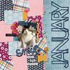 Digital Scrapbook Page by Danica