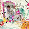 Digital Scrapbook Page by Ellen