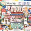 DIGITAL SCRAPBOOKING | FOREVERJOY DESIGNS | PS I LOVE YOU