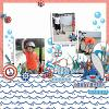 DIGITAL SCRAPBOOKING | FOREVERJOY DESIGNS | DADDY SHARK
