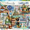 DIGITAL SCRAPBOOKING | FOREVERJOY DESIGNS | LAKE LIFE