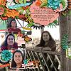 Digital Scrapbook Page by Anne
