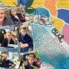 Digital Scrapbook Page by Karen