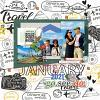 Digital Scrapbook Page by Candy Lai