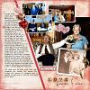Digital Scrapbook page by Christa