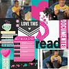 Digital Scrapbook Page by Esther