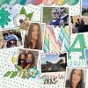 Digital Scrapbook Page by Trish