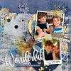 Digital Scrapbook Page by Carol