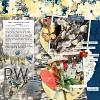 Digital Scrapbook Page by Christa