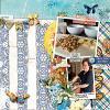 Digital Scrapbook Page by Stefanie